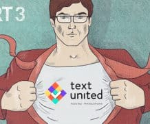 Be a Text United Translator: Yourself (pt. 3)
