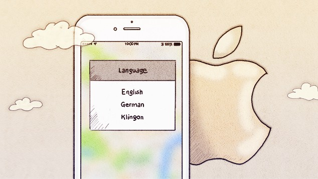 How to translate an app for iPhone?