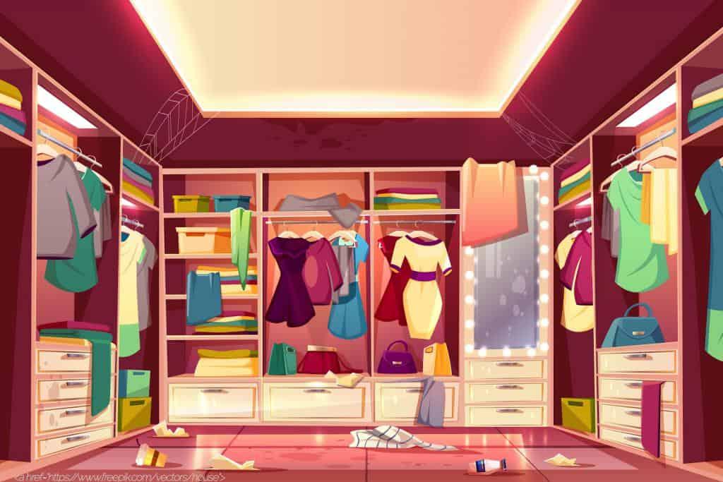 illustration of eCommerce shop