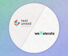 Text United in weXelerate Accelerator Program