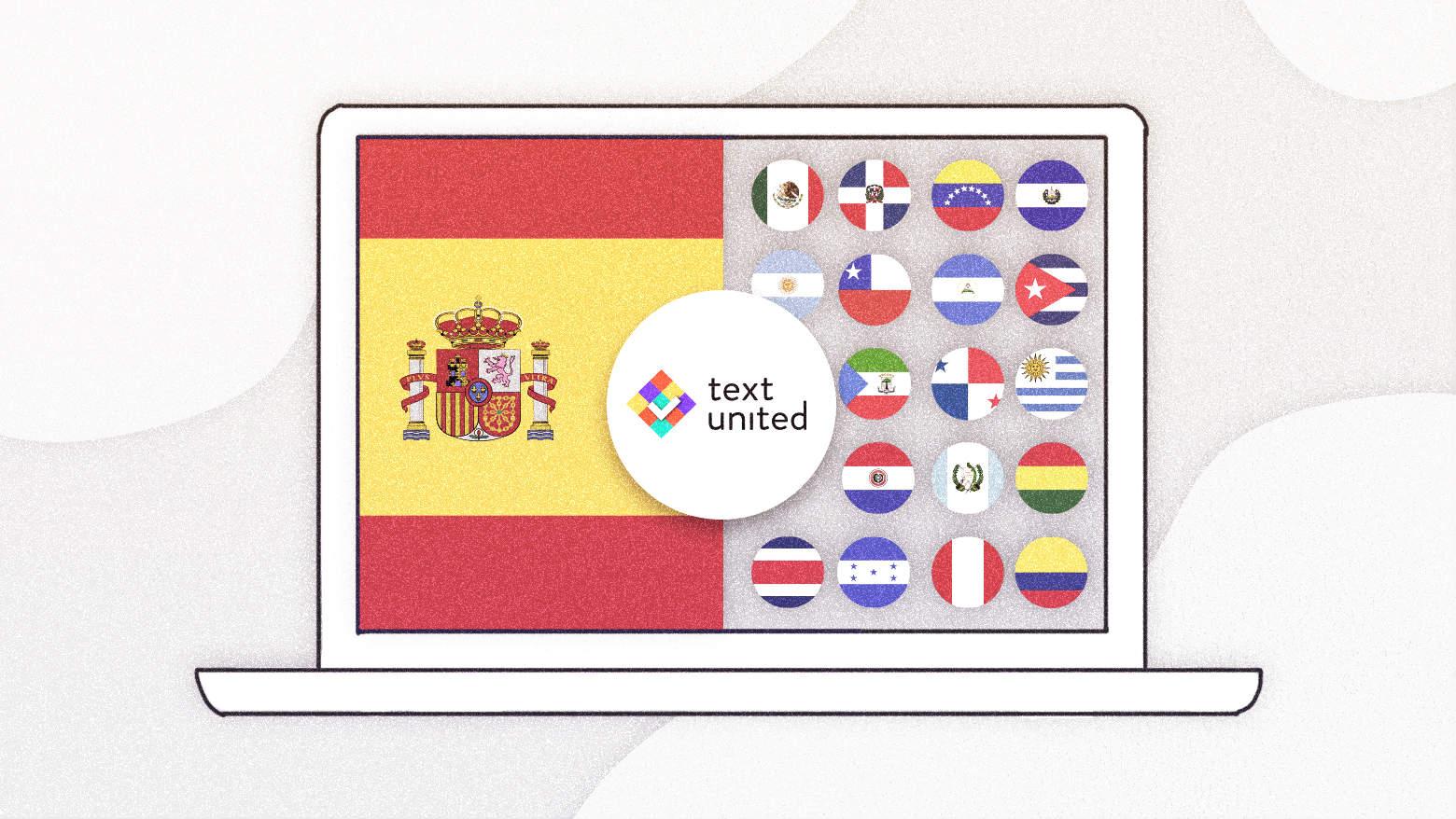 European vs Latin America Spanish Translation