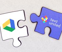 Google Drive Integration at Text United