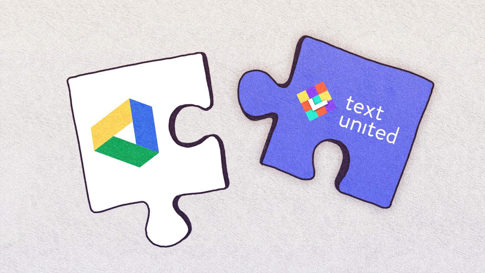 Google Drive Integration at Text United