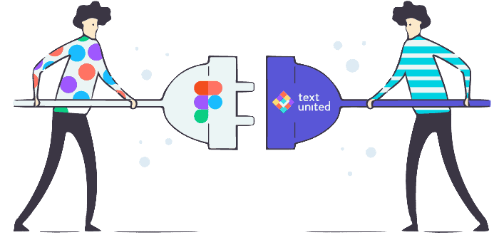 Figma and Text United integration Header image